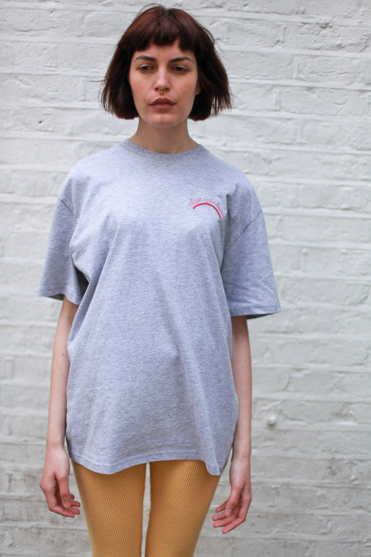 CHASE RAINBOWS GREY TEE BY THE ENGLISH TEE SHOP