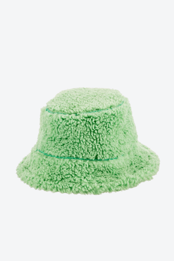 Teddy Bucket Hat Green