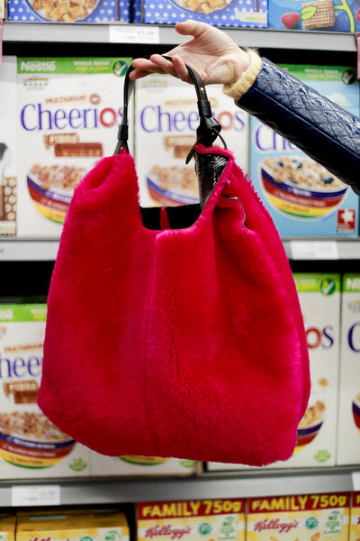 Picasso Double Sided Fuxia Bag