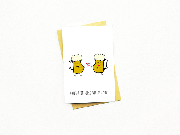 CAN'T BEER CARD