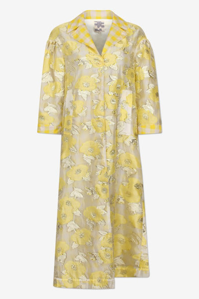 baum und pferdgarten Deborah yellow floating flower jacket