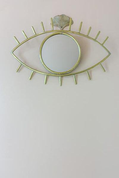 Eye Brass Mirror