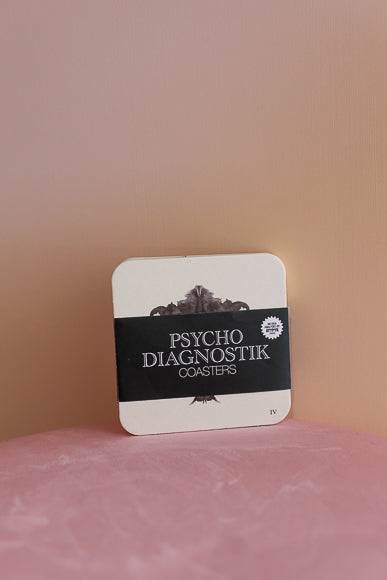 Psycho-Diagnostik Coasters