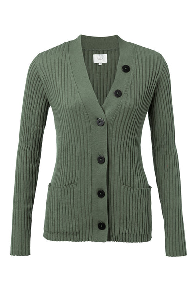 Contrasting Buttons Cardigan