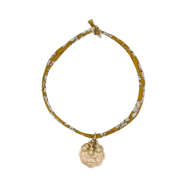 Liberty Rope Bell Bracelet