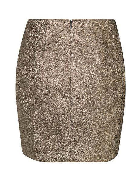 JESSA METALLIC MINI SKIRT MBYM