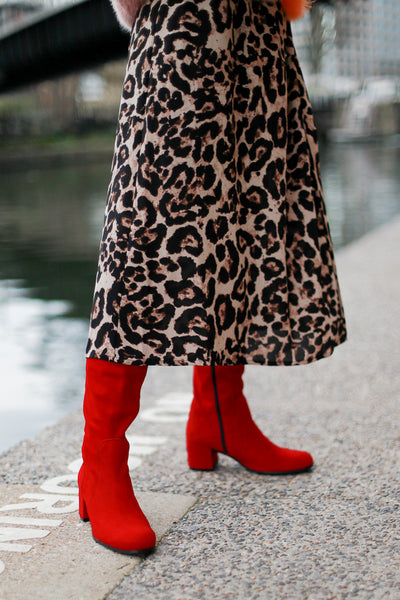 Joan Red Boots