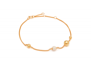 Pearl on String Bracelet