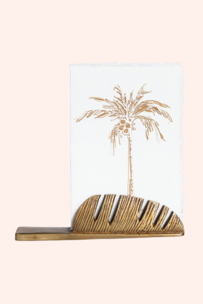 Tropical Postcard Holder