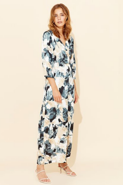 Reeda Zaria Print Dress