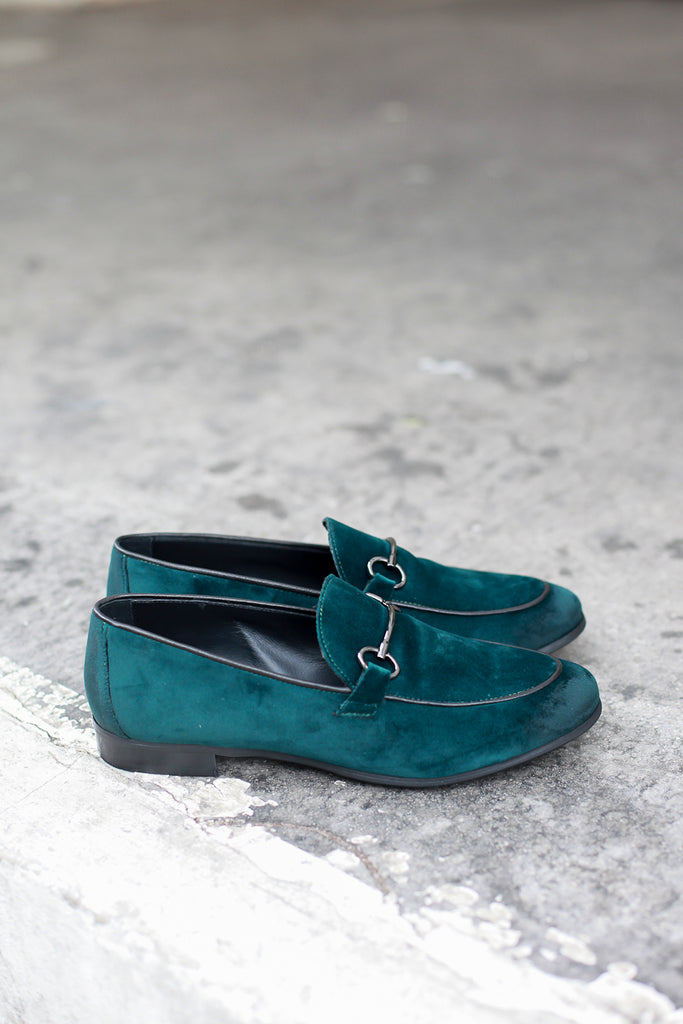Lea Velvet made in Italy loafers by Portamento