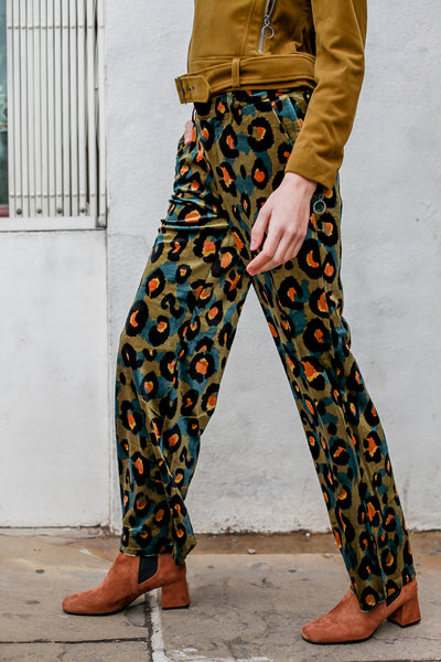 Edina Velvet Trousers