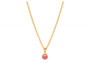 Sphere Rose Necklace