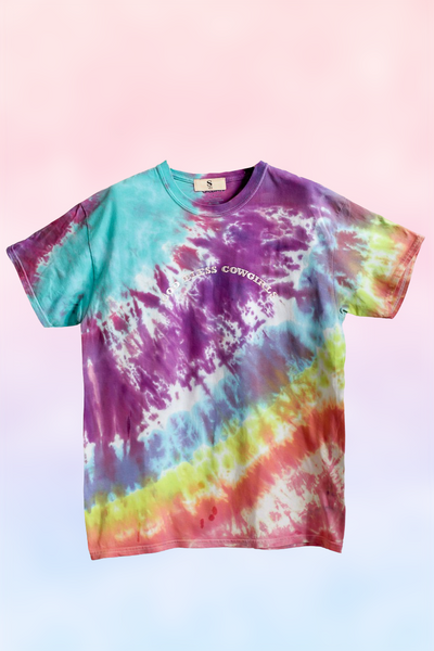 God Bless Cowgirls Tie Dye Tee 123