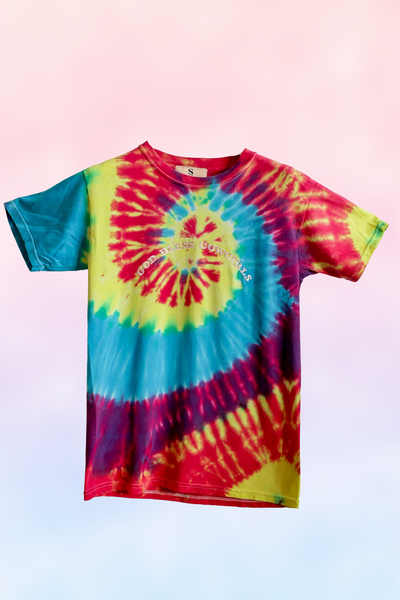 God Bless Cowgirl Tie Dye 125