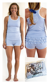 Justin Jean® Beechwood Booty™ Racerback Sleep and Lounge PJ Set: Women