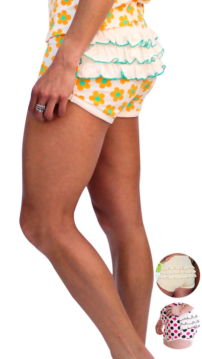 Justin Jean® Beechwood Booty™ Sleep & Lounge Short Separate for Women