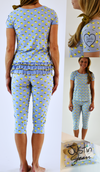 Justin Jean® va va Vasto!™ Capri Pajama Set for Women