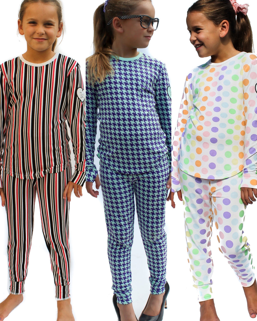 CLEARANCE! Children's Brooklyn Pajama Set 2T-10/12