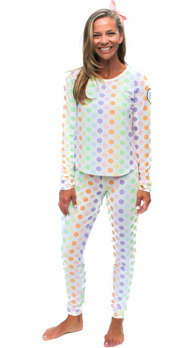 The Brooklyn Pajama in Unity Print (Women s Sizes) - Justin Jean 17d3670151e