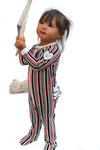 The Westview Baby Onesie Pajama in Joy Print