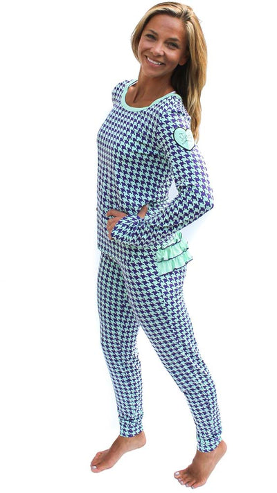 The Brooklyn Pajama in Loyalty Print (Women's Sizes)