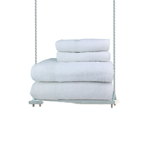100% Washcloth Cotton Classic Economy White Towels - 50 Dz