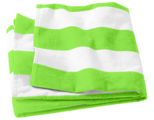 Port Authority Cabana Stripe Beach Towel