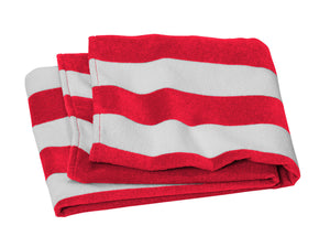 Port Authority Value Cabana Stripe Beach Towel