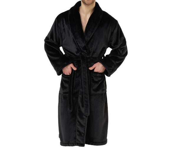 Wholesale Soft Microfleece Shawl Collar Robe