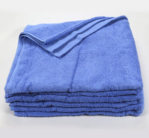 100% Cotton Economy Classic Solid Dyed Colors Pool Towels - 3 Dz