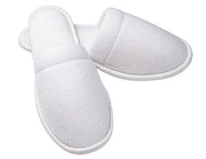 Wholesale Close Toe Terry Spa Slippers