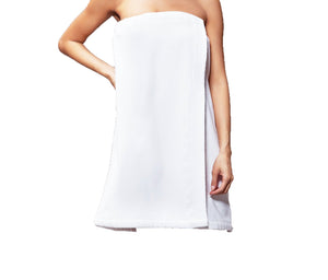 Wholesale Terry Velour Cloth Spa Wrap, Bath Towel Wrap