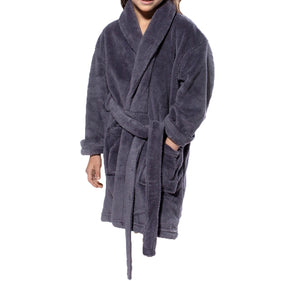 Plush Super Soft Fleece Shawl Kid's Robe
