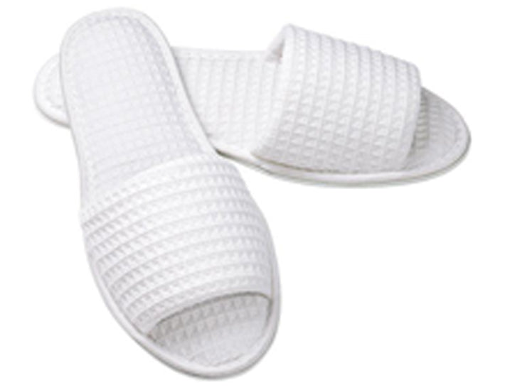 Wholesale Open Toe Waffle Slippers