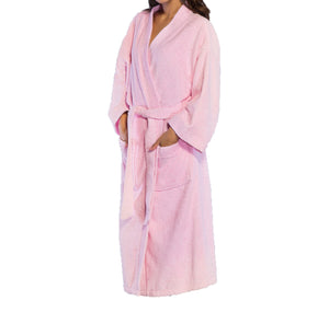 Wholesale Turkish Premium Cotton Kimono Bathrobe For Women