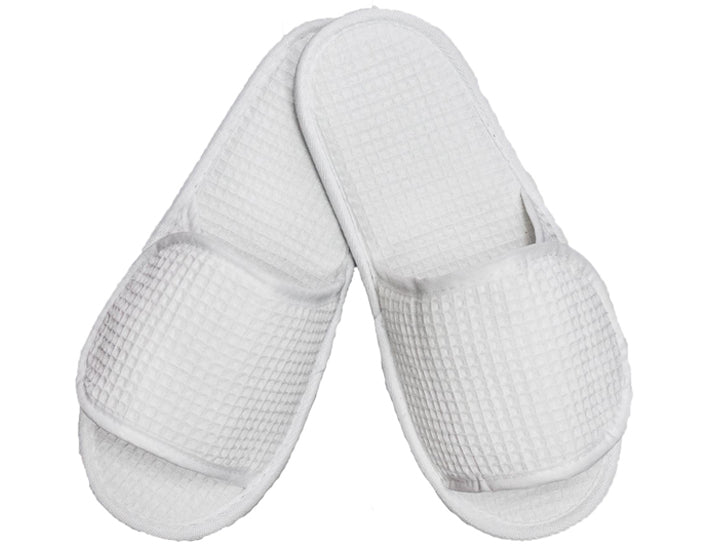 Wholesale Adult Velcro Adjustable Waffle Slippers