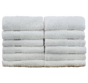 Wholesale 100% Cotton Eco White Washcloths