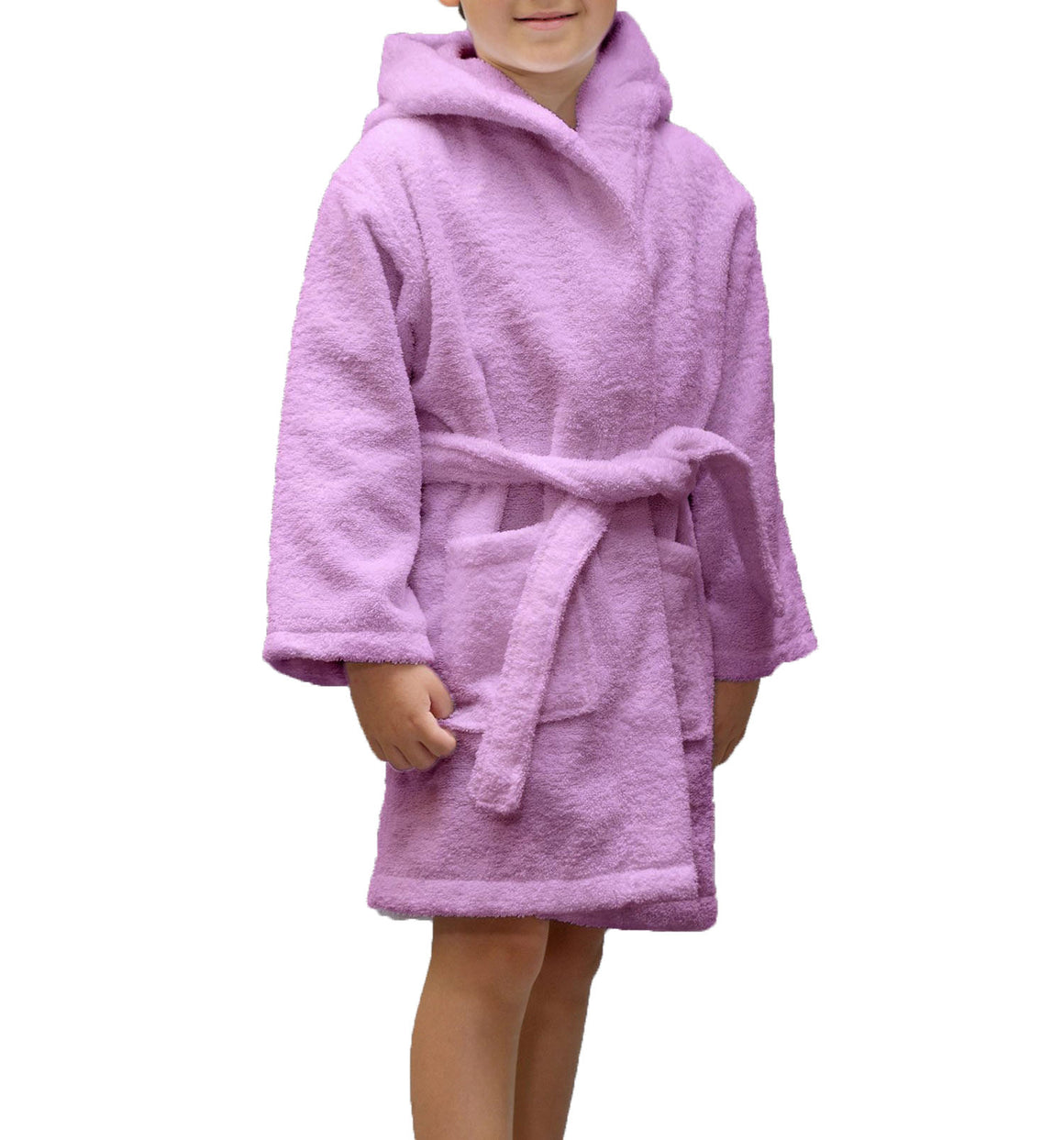 100% Turkish Cotton Hooded Terry Kid's Bathrobe