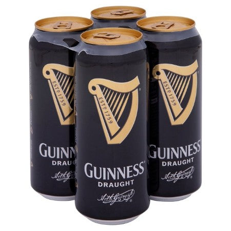 Guinness Draught 440ml 4.2% Pack of 4