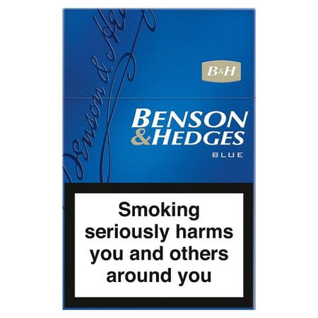Benson & Hedges Blue King Size Cigarettes Pack of 20