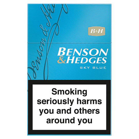 Benson & Hedges Sky Blue King Size Cigarettes Pack of 20