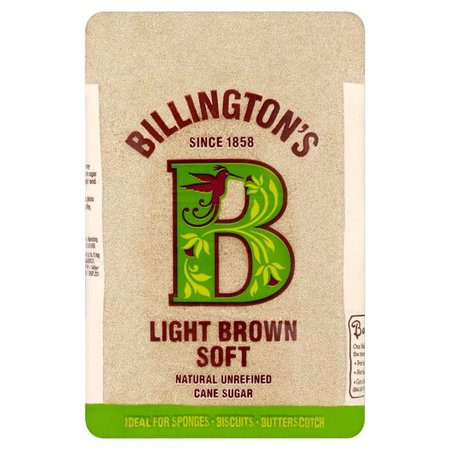 Billington Light Brown Soft Natural Unrefined Cane Sugar 500g