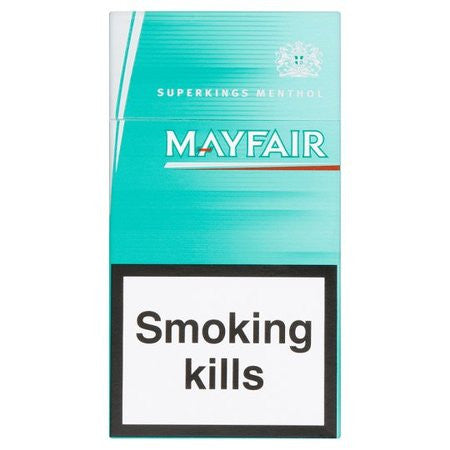 Mayfair Green King Size Cigarettes Pack of 20