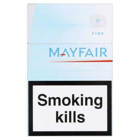 Mayfair White King Size Cigarettes Pack Of 20 Dial A