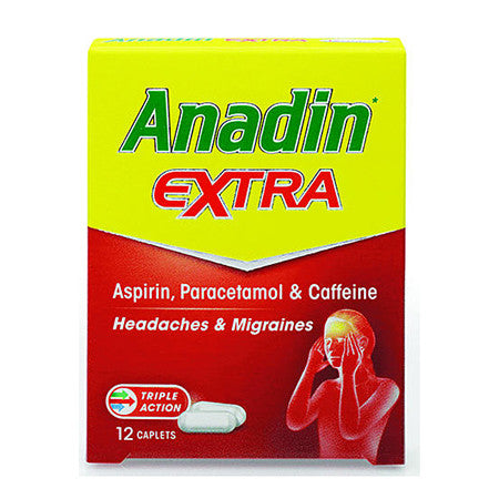 Anadin Extra Pack of 12