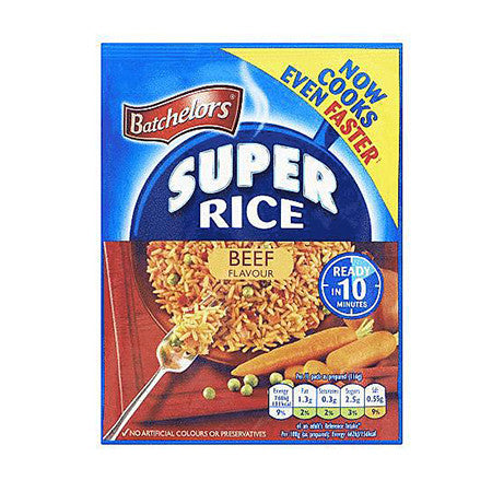 Batchelors Super Rice Beef 100g