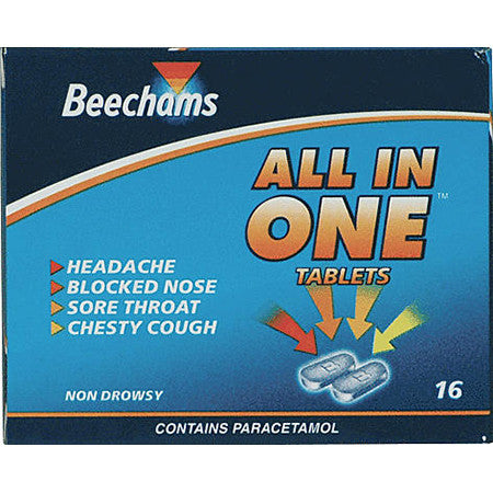 Beechams All In One Tablets Pack of 16