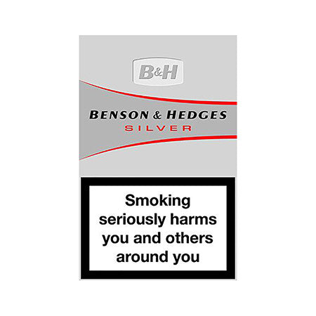 Benson & Hedges Silver King Size Cigarettes Pack of 20