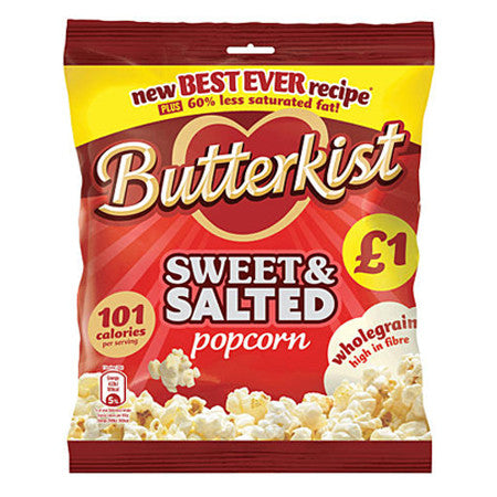 Butterkist Sweet & Salted Popcorn 100g